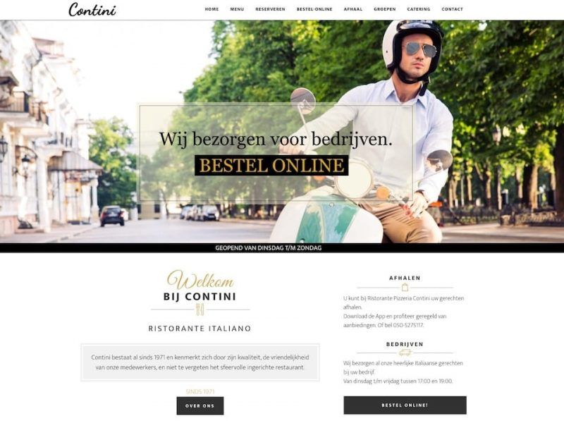 WordPress Website Contini