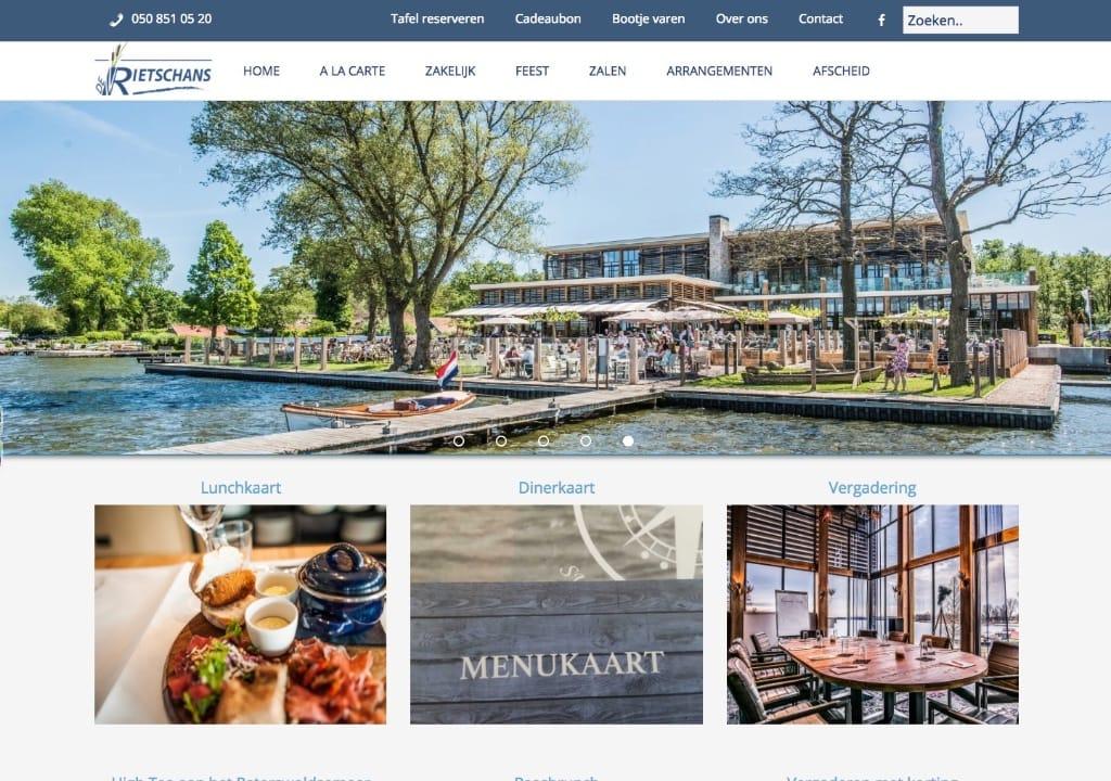 Website De Rietschans