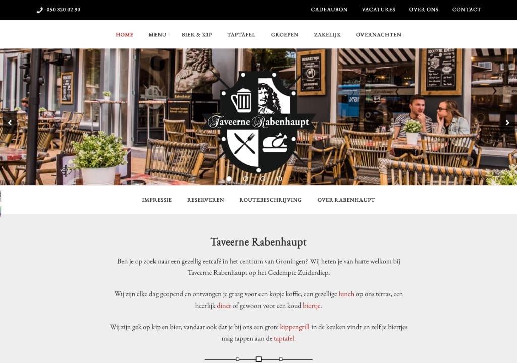 Website Taveerne Rabenhaupt