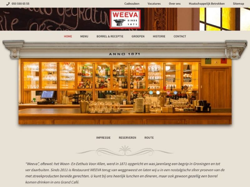 Website Weeva