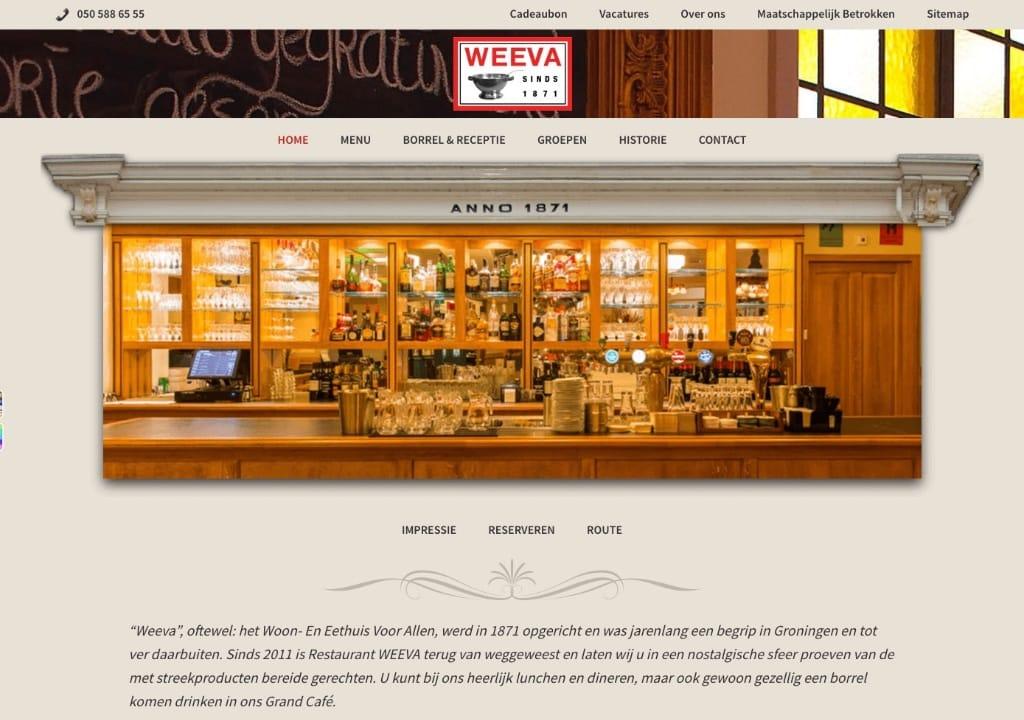 Website Weeva