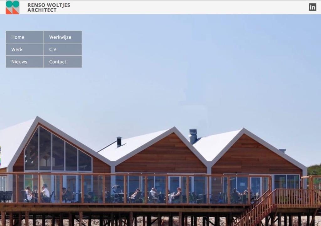 Website Woltjes Architect
